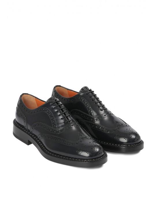 Santoni laced shoes 6fori dovetail