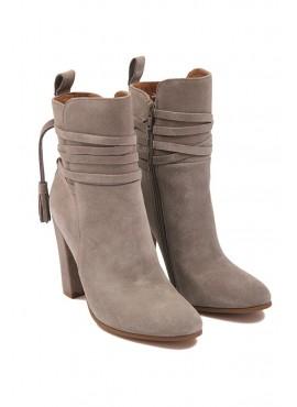 10 cm heel side zip shoes