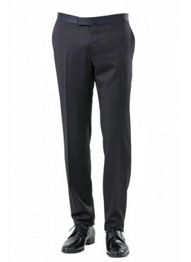 Pantalone smiking 100%lana