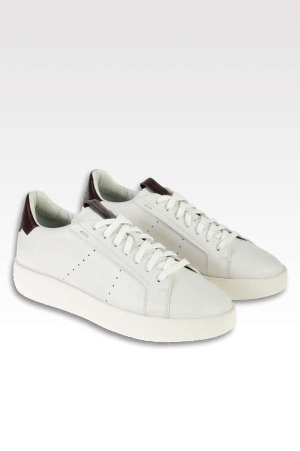 Sneakers Santoni in pelle...