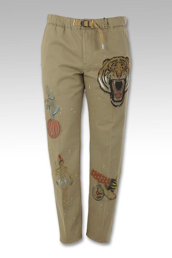 Pantalone White Sand con...