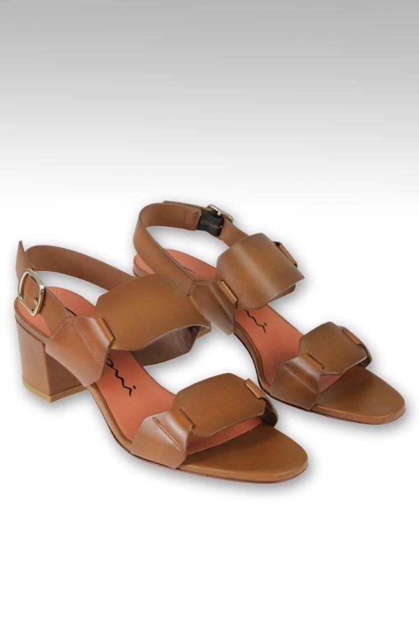 Sandalo Santoni tacco 6cm