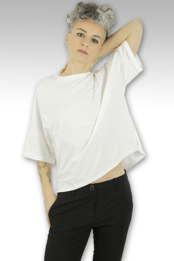 T-Shirt Peserico a scatola...