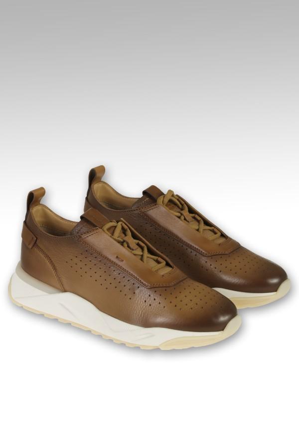 Sneaker Santoni in pelle