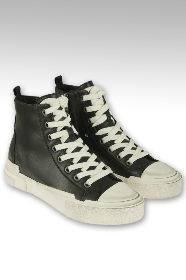 Sneakers Ash in pelle nera...