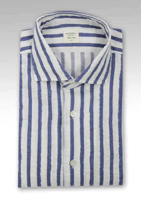 Camicia Mazzarelli in lino...