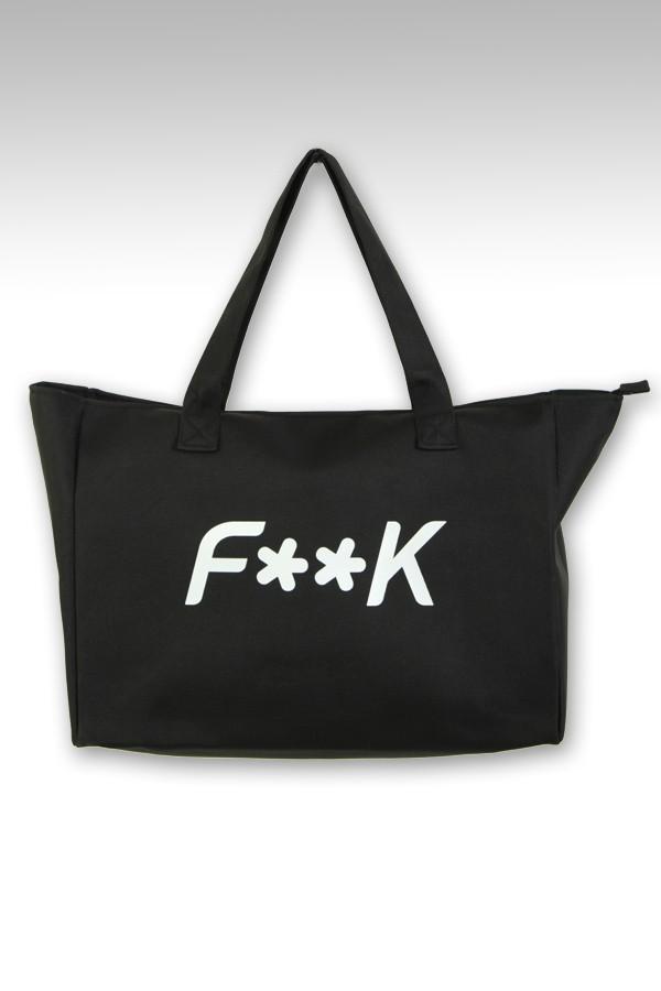 Borsa mare F**K con logo