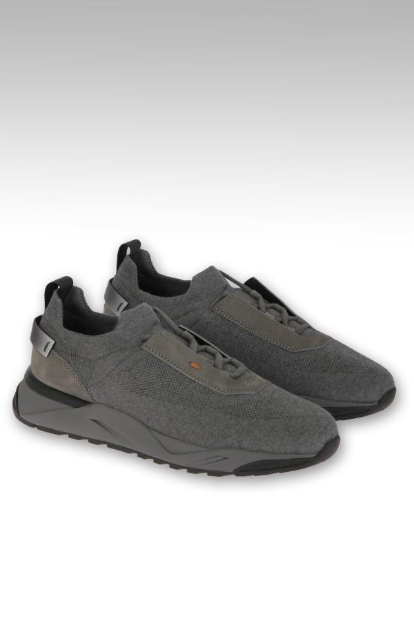 Sneaker Santoni in tessuto...