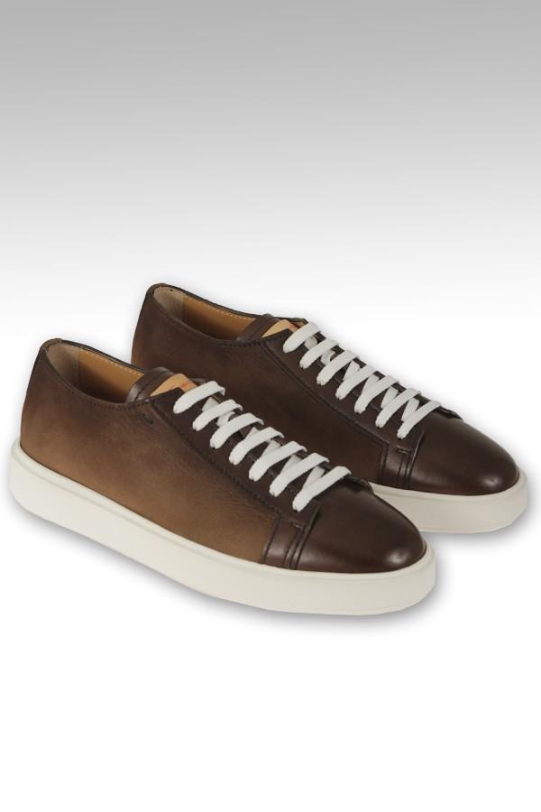 Sneaker Santoni allacciata