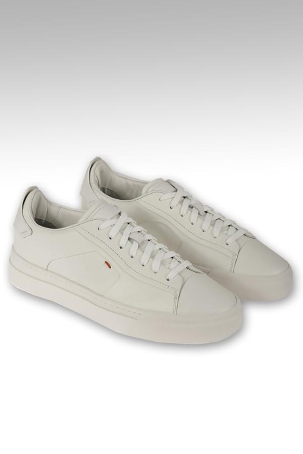 Sneaker Santoni in pelle...